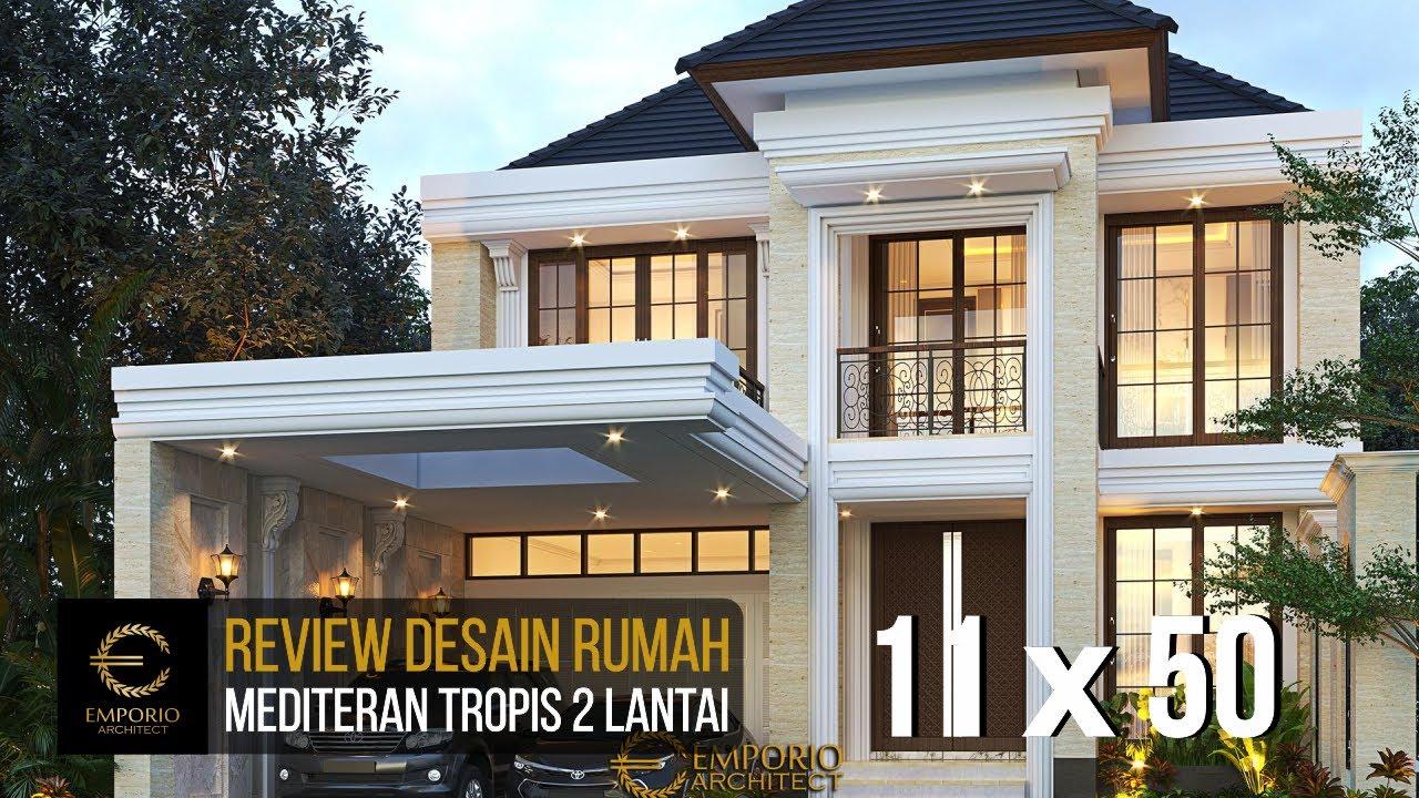 Video 3D Desain Rumah Klasik Modern 2 Lantai Ibu Nurul - Ponorogo, Jawa Timur