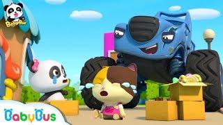 ペロペロキャンディーが泥棒に盗まれたよ!パトカー出動!泥棒を逮捕しよう!|警察ごっこ遊び|赤ちゃんが喜ぶアニメ|動画|ベビーバス|BabyBus