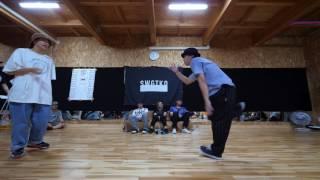 MASATO vs YURIKO BEST16 TRIPLE CROWN 栃木県予選 KIDS&GENERAL SIDE