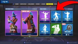 NEW LEAKED SKINS AND EMOTES! INSANE MAGIC SKINS IN FORTNITE! FORTNITE BATTLE ROYALE!