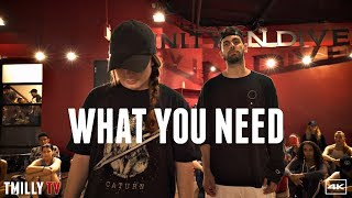 Baynk   What You Need   Choreography By Jake Kodish   #TMillyTV Ft Haley Fitzgerald, Sean Lew