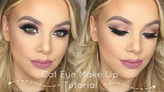Simple Cat Eye Make Up Tutorial | Mac Warm Neutrals Palette