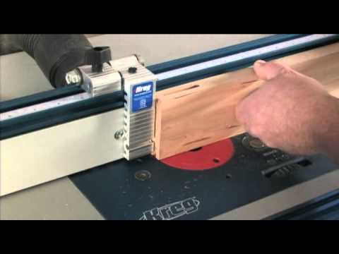Precision Router Table Stop