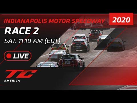 2020年 ブランパンGTワールドチャレンジ・アメリカ(インディアナポリス)TCR / TC / TCA レース2ライブ配信動画