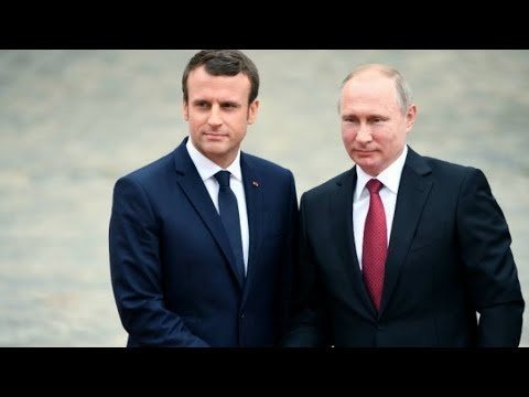 Macron looks for common ground with Putin on Russia trip