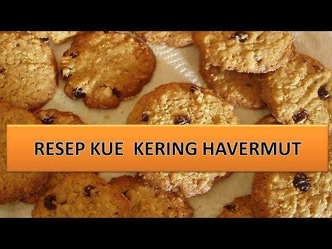 Video RESEP KUE  KERING HAVERMUT