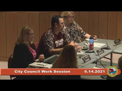 6.14.2021 City Council Work Session: The American Rescue Plan Act