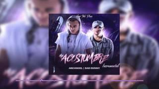 Me Acostumbre - Arcangel ft Bad Bunny (Instrumental)-(Uso Libre)