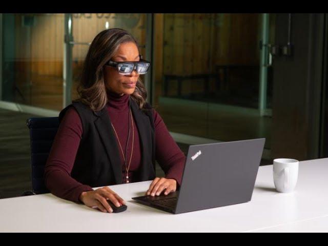 Очки дополненной реальности Lenovo дадут вам пять дополнительных экранов для работы