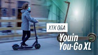 You-Go XL Q&A Todo sobre el PATINETE ELÉCTRICO con MÁS AUTONOMÍA de Youin