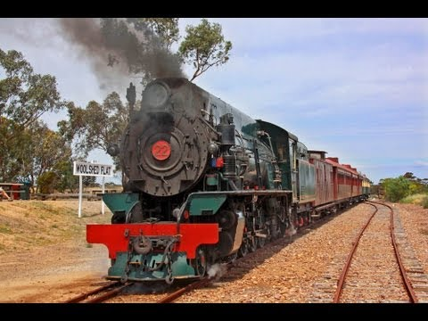 Super car video The Pichi Richi Railway Preservation Society..