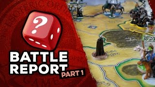 War Of The Ring Battle Report: Part 1
