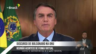 Discurso do Presidente Jair Bolsonaro na ONU