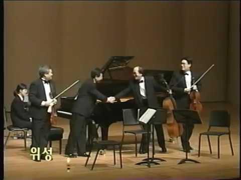 more Schumann Piano Quartet concert in Korea