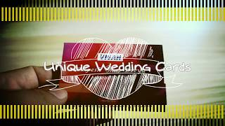 ATM Style Unique Wedding Invitation Cards For Hindu Marriage