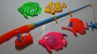 Рыбки на удочке
