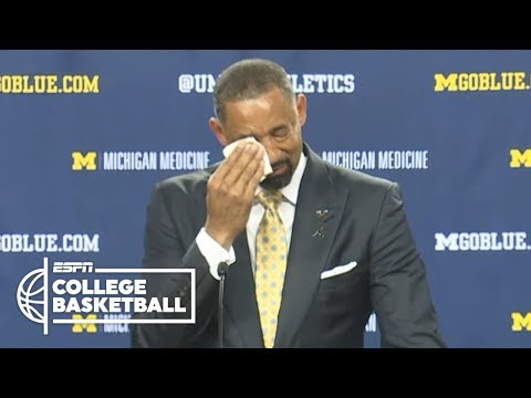 Juwan Howard gets emotional while being introduced as Michigan head coach | College Basketball