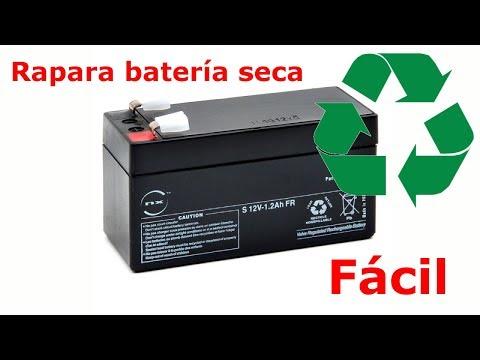 Repara batería seca 12V