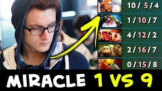 Miracle 1 vs 9 — that
