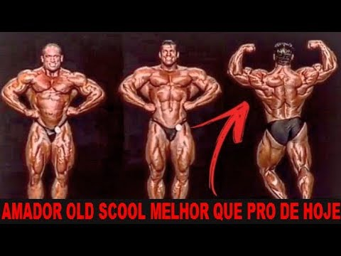 A DIFERENÇA DOS AMADORES OLD SCHOOL RICH PIANA E DAVE PALUMBO