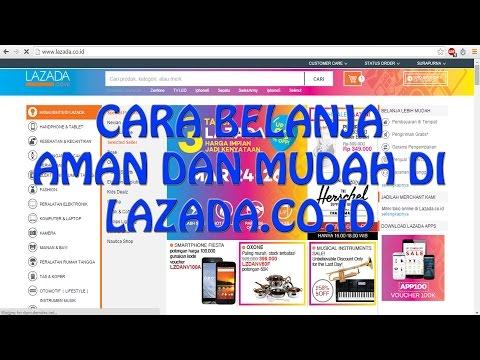Video CARA BELANJA DI LAZADA PALING GAMPANG DAN AMAN