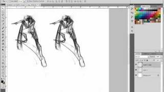 Part 3 - Drawing complex poses - forced perspectives