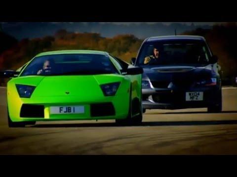 Evo vs Lamborghini Part 1 – Top Gear – BBC