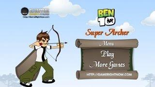 Game Ben 10 - Trò Chơi Ben 10 Xạ Thủ Bắn Táo