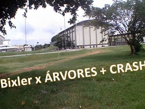 bixler-fpv-acrobático-x-árvores-x-crash-no-final