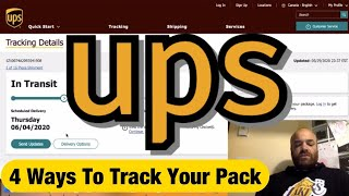 UPS Shipments - Can I Track a UPS Truck? | Amazon FBA