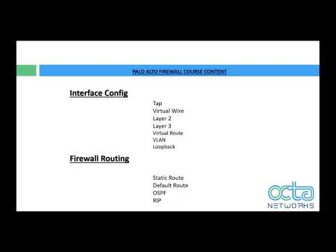 Palo Alto Certified Network Security Administrator/Engineer Training ...