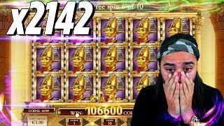 ROSHTEIN RECORD  WIN 107.000€ - Top 5 Biggest Wins of week