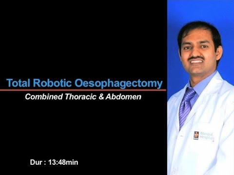 Total Robotic Oesophagectomy