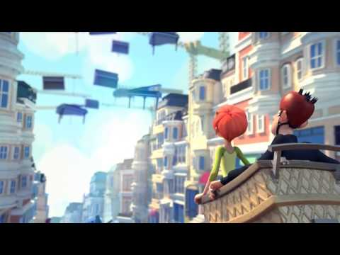 Romantic Comedy - Jinxy Jenkins, Lucky Lou - Animation Short Film