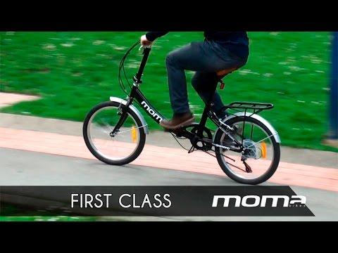 MOMA First Class, tu bici plegable para ciudad