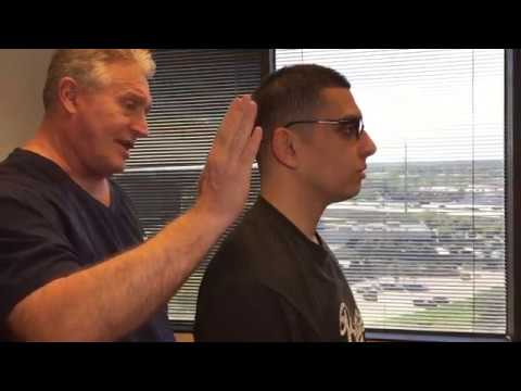 Video Jersey City New Jersey Man Gets His First Adjustment by Houston Chiropractor Dr Gregory Johnson
