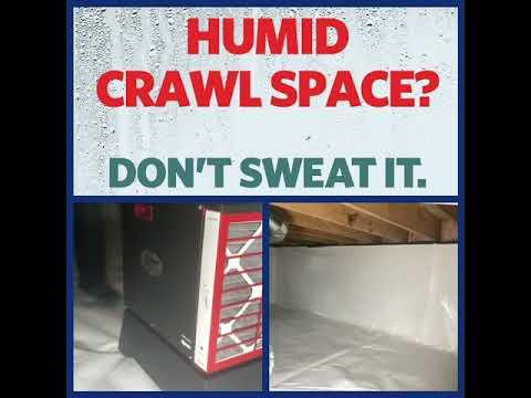 Crawlspace Repair in Haverhill, New Hampshire, by Matt Clark's Northern Basement Systems.