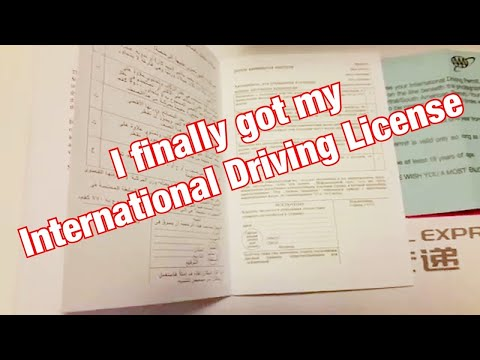 Video International Driving Permit / License (IDP)- Valid Over 150 Countries