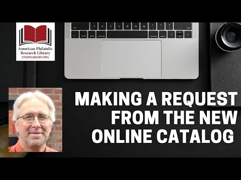 APRL: Making a Request from the New Online Catalog with Scott Tiffney