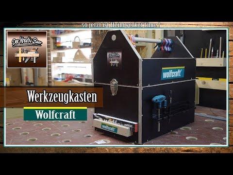 ✅ Wolfcraft Werkzeug  | Werkzeugkasten   +  Gewinnspiel
