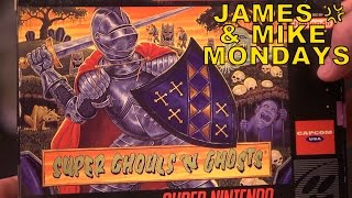 Super Ghouls 'n Ghosts (SNES) Part 1   James & Mike Mondays