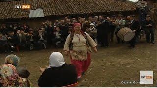 köy halkı defile yaparsa  çan  çanakkale  gezelim görelim  trt avaz