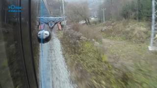 Brno - Choceň / POHLED NA TRAŤ Z KONCE SOUPRAVY/ HD KVALITA
