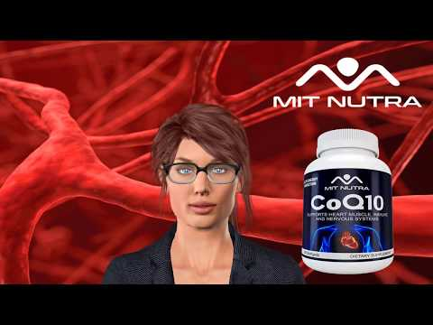 Buy The Best COQ10 Brand of Supplements for Heart Health by MIT NUTRA