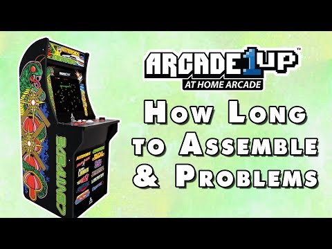 BRICKSEEK WALMART ARCADE1UP GALAGA - Rampage and SF2