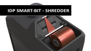 IDP SMART-BIT - Shredder for ID card printer ribbons