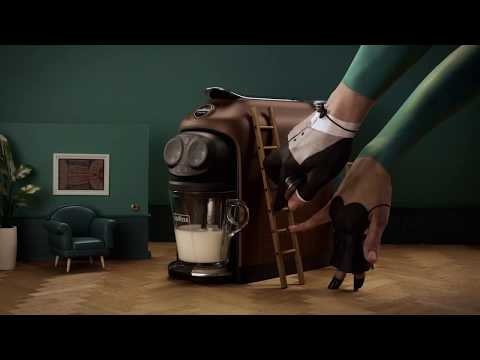 Video Ads -  Lavazza  - The quietest machine of its kind