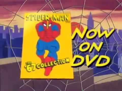 Spider-Man 1967 cartoon DVD trailer - 2004