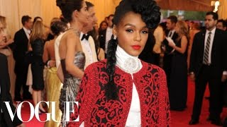 Janelle Monae At The 2014 Met Gala - The Dresses Of Charles James - Vogue