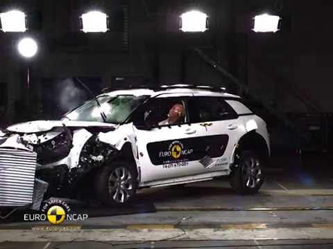 Euro NCAP Crash Test of Citroen C4 Cactus 2014